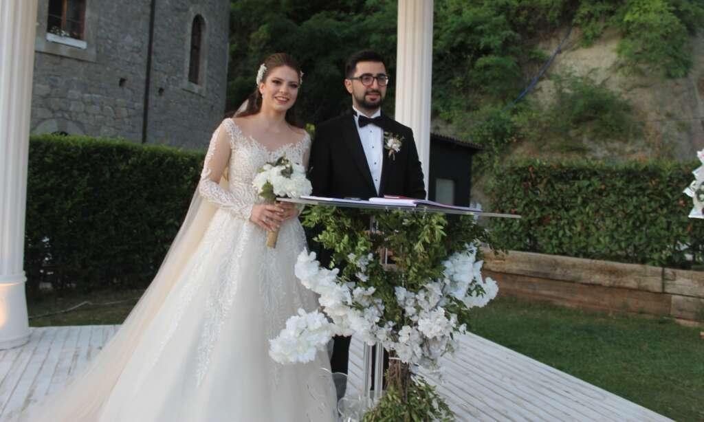 Ahmet Akyüz oğlu Ertuğrul'u evlendirdi 1