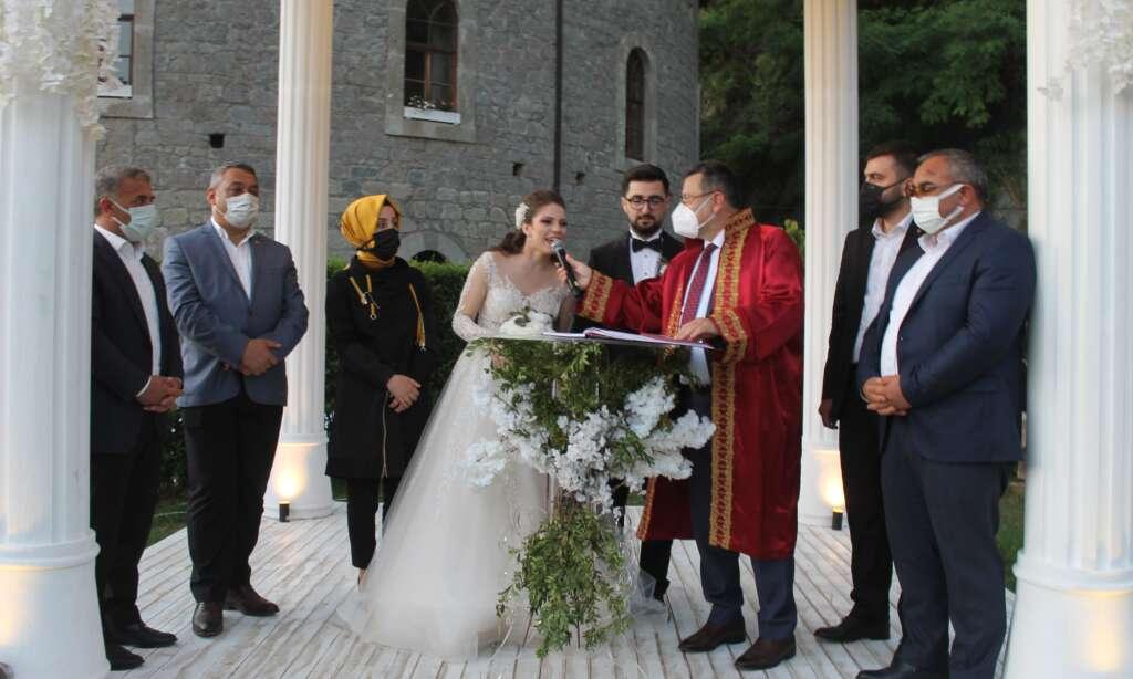 Ahmet Akyüz oğlu Ertuğrul'u evlendirdi 2