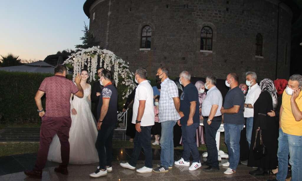 Ahmet Akyüz oğlu Ertuğrul'u evlendirdi 8