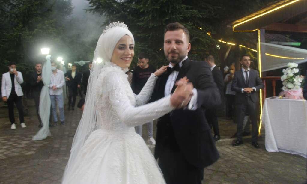 Erzurum'dan Çaykara'ya gelin geldi 3