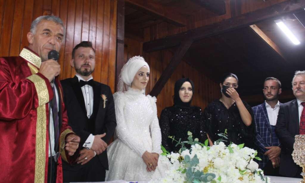 Erzurum'dan Çaykara'ya gelin geldi 4