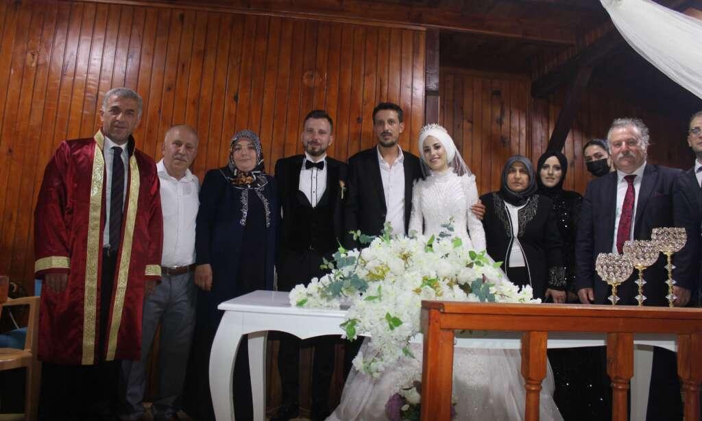 Erzurum'dan Çaykara'ya gelin geldi 7