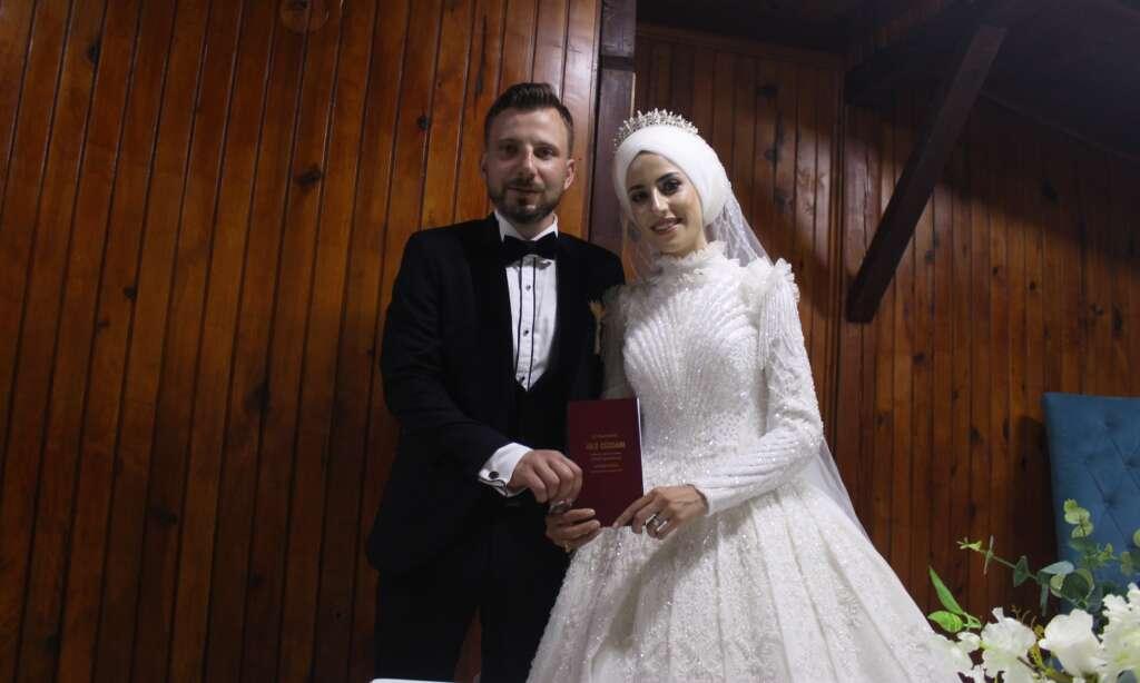 Erzurum'dan Çaykara'ya gelin geldi 8