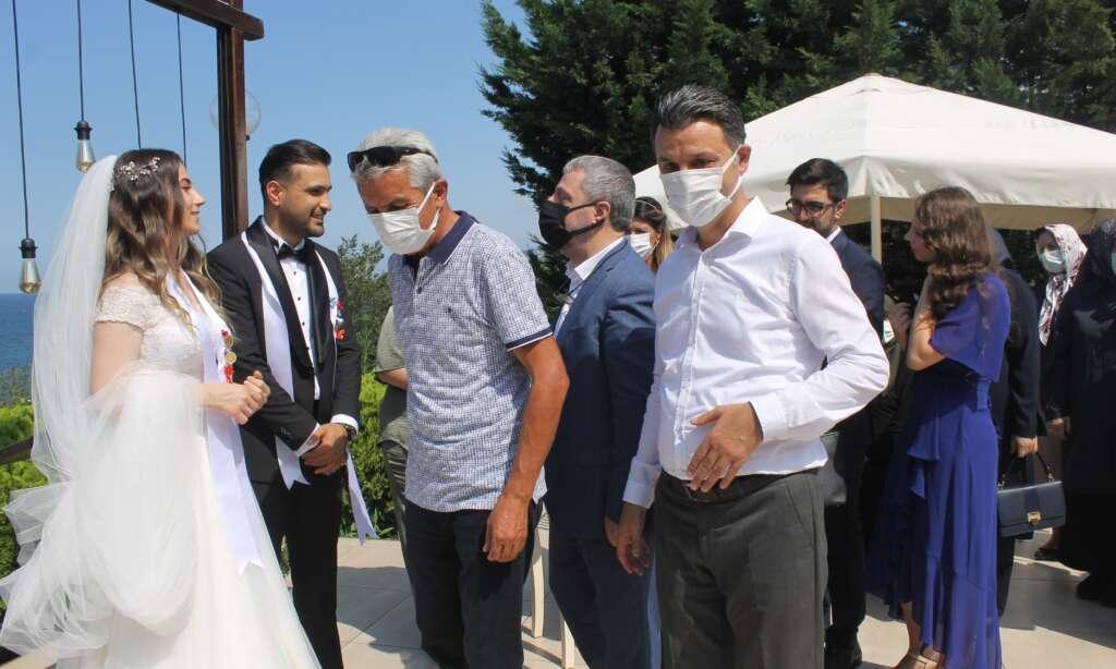 Kübra Akyüz ve Mustafa Akbaş'ın en mutlu günü 7