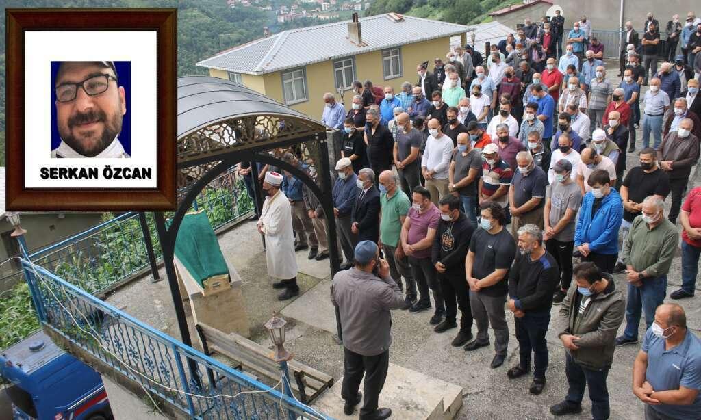 Serkan Özcan dualarla son yolculuğuna uğurlandı