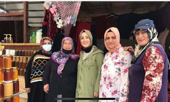 Trabzon Milletvekili Bahar Ayvazoğlu Çaykara'da 4
