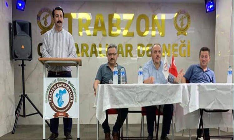 Trabzon ve Çaykaralılar Derneğinin yeni Başkanı Ahmet Aydın oldu 1