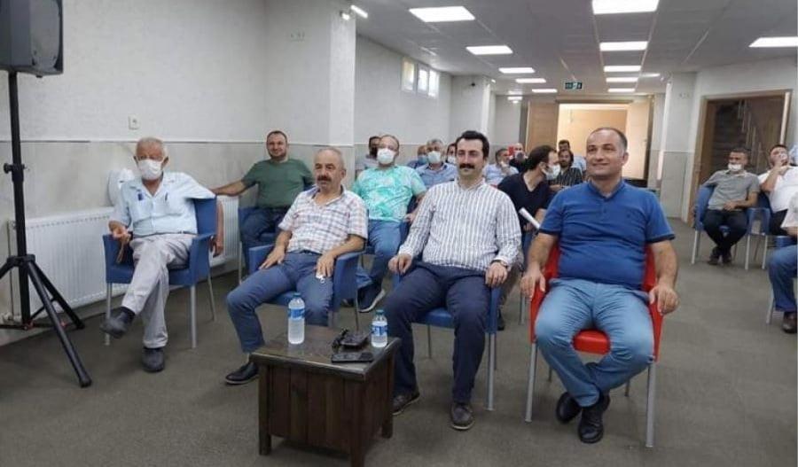 Trabzon ve Çaykaralılar Derneğinin yeni Başkanı Ahmet Aydın oldu 2