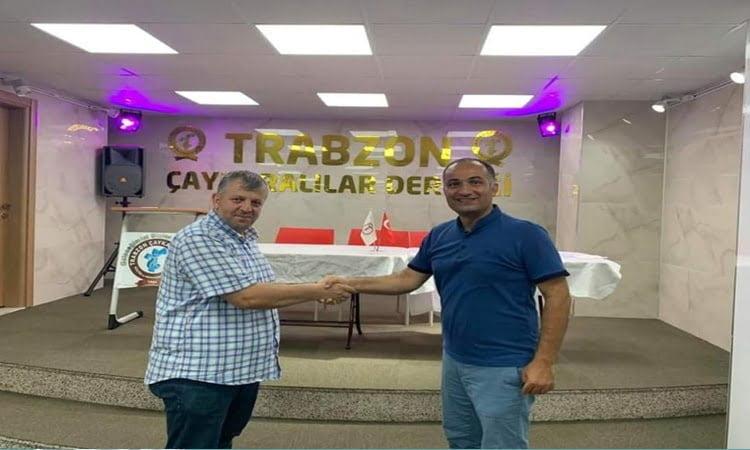 Trabzon ve Çaykaralılar Derneğinin yeni Başkanı Ahmet Aydın oldu