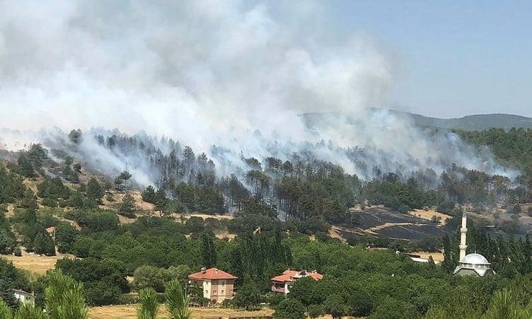 Yangınlardan son durum 4