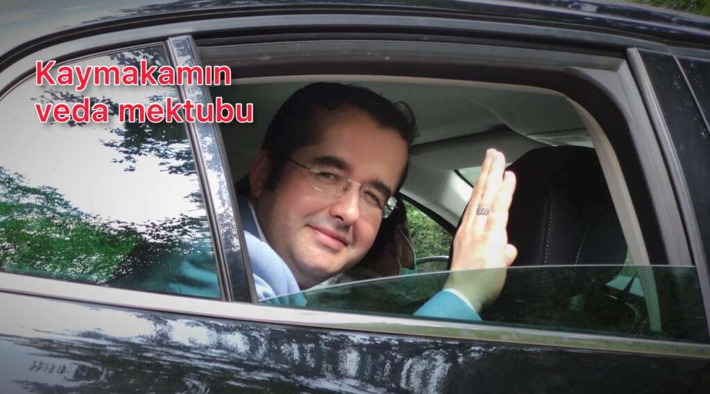 Dernekpazarı Kaymakamı Murat Yıldız'dan duygulu veda