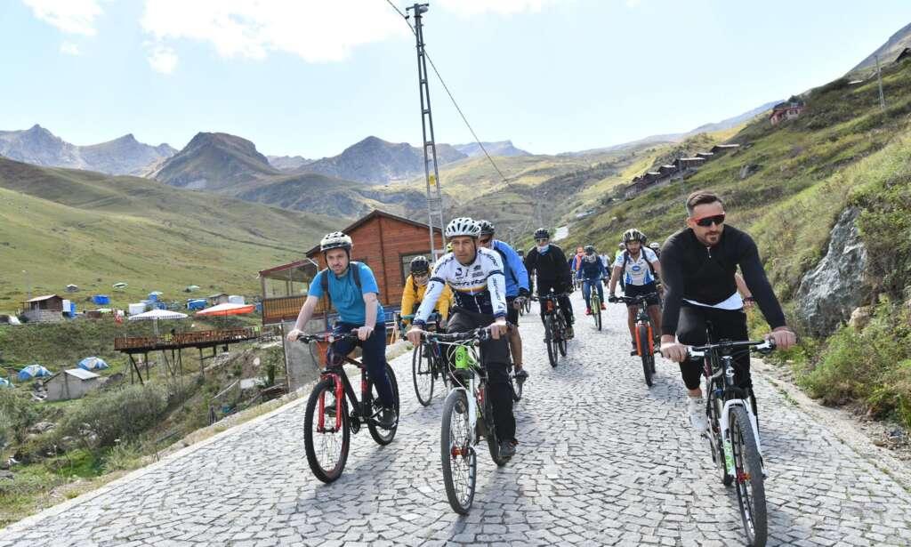 Haldızen Yaylası'nda bisiklet turu 5