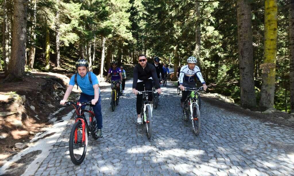 Haldızen Yaylası'nda bisiklet turu 3