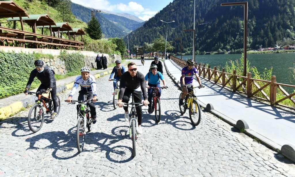 Haldızen Yaylası'nda bisiklet turu 7