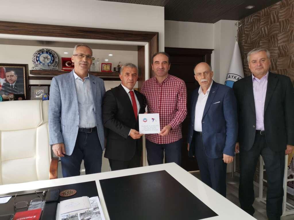 İstanbul Dernekler Federasyonundan Başkan Tok'a ziyaret