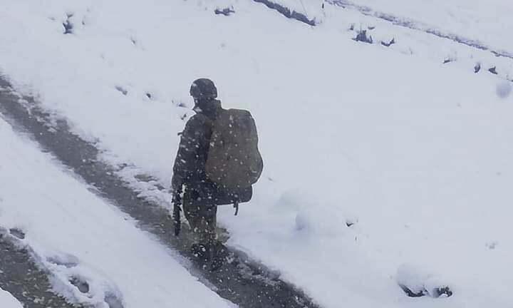 Jandarma timleri Çaykara'nın Yaylalarında 4