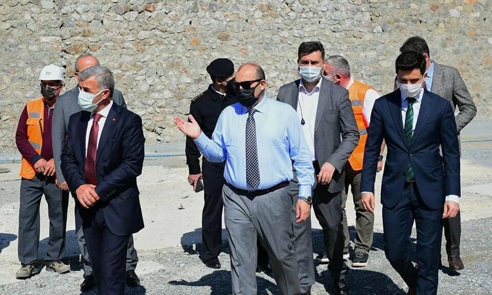 Vali Ustaoğlu Çaykara'da 5
