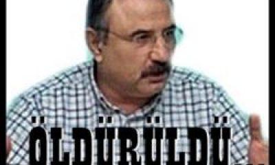 Eski Milletvekili Mehmet Gedik Öldürüldü.