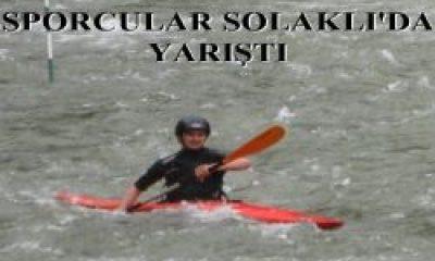 Türkiye Kano Yarışması Seçmeleri Yapıldı