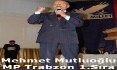 Mehmet Mutluoğlu MP'den 1.Sıra Milletveili Adayı