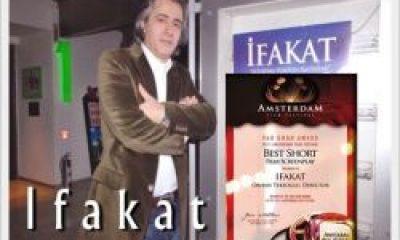 İfakat'a Amsterdem'da En İyi Senaryo Ödülü
