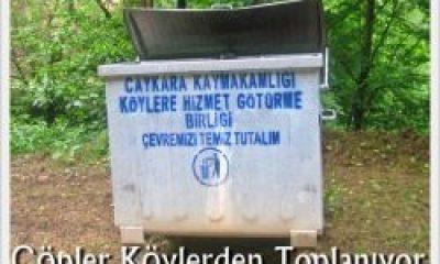 Çöpler Köylerden Toplanıyor