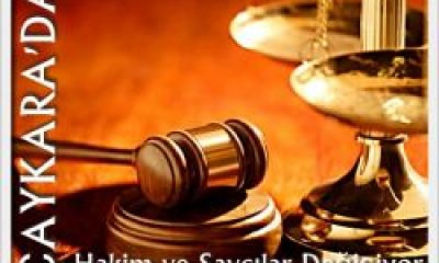 Çaykara Hakim ve Savcıları Değişti