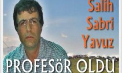 Salih Sabri Yavuz Profesör Oldu