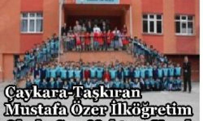 Çaykara Taşkıran Mustafa Özer İlköğretim Okulu Son Noktayı Koydu