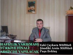 Hafızlık Yarışması Türkiye Finali Arsinde Yapılacak 1