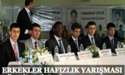 Hafızlar TÜrkiye Finali Yapıldı
