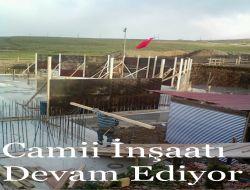 Sultanmurat Yayla Camii İnşaatı Devam Ediyor