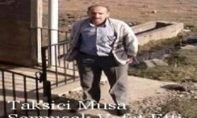 Soğanlı Köyünde Vefat Musa Sarmısak Öldü