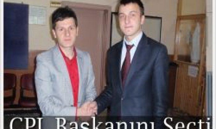 Bünyamin Erdoğan ÇPL Öğrenci Meclis Başkanı