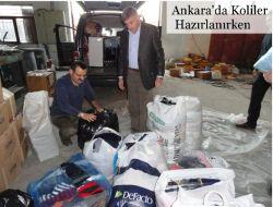 Ankara Çaykaralılar Grubundan Depremzedelere Yardım 2