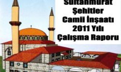 Sultanmurat Camii 2011 Çalışma Raporu