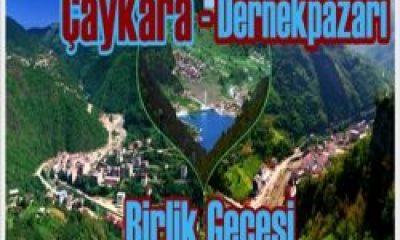 Trabzonda Çaykara-Dernekpazarı Gecesi
