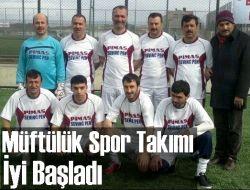 Çaykara Müftülüğü Futbol Takımı İyi Başladı