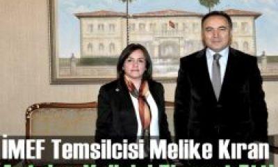 Melike Kıran Antalya Valisini Ziyaret Etti