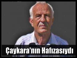 Emekli Müdür Ahmet Ziya Ayaz Vefat Eti