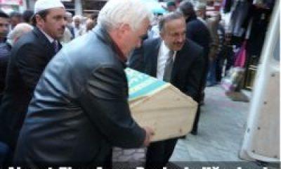Ahmet Ziya Ayaz Dualarla Defnedildi