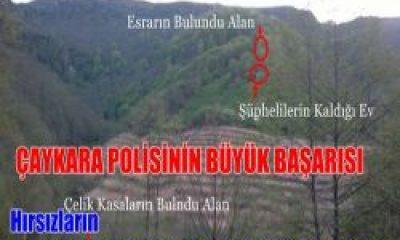Hırsızların Peşine Düştülerr PKK Kuryesini Yakaladılar