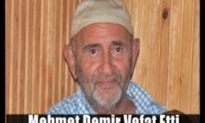 Mehmet Demir Vefat Etti