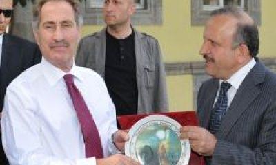 Başkan Vekili Osman Abanoz Karşıladı