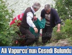 Ali Vapurcu'nun Cesedi Bulundu