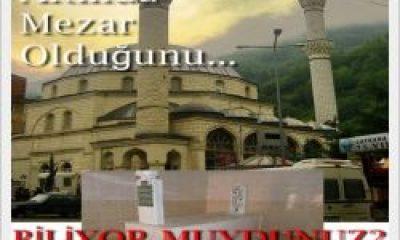 Mezarı Çaykara Merkez Cami Altında
