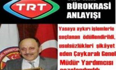 TRT'den İlginç Atama