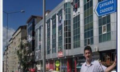 Erzurum'un En Büyük Caddesi de Çaykara