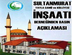 Sultanmurat Derneğinden Basın Açıklaması