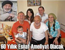 Esnaf M.Ali Lort Hastanede